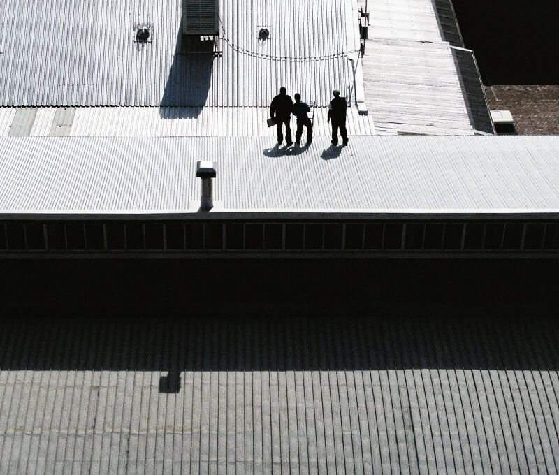 Inspecting commercial roofs